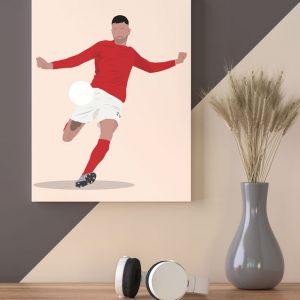 Voetbal-prent-excelsior-boy-boeloerditti-Sportprent