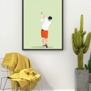 Golfprent-Sportprent