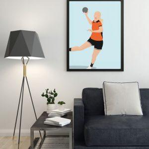 Lisa-handbal-prent-voorwaarts-twello-sportprent