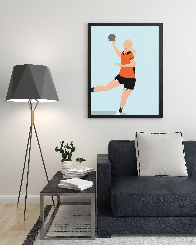 handbal-prent-Sportprent