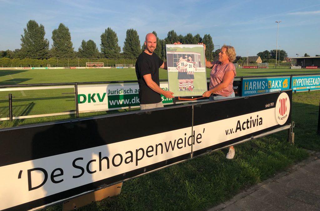 voetbalprent - vv activia